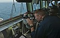 US Navy 110906-N-DX615-082 Sailors study navigation procedures during a strait transit navigation exercise.jpg
