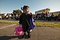 US Navy 111022-N-FG395-244 A child eats her candy after taking part in a Trunk or Treat event at Naval Submarine Base Kings Bay. More than 1,000 co.jpg
