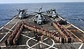 US Navy 111115-N-CT127-047 Sailors and Marines form a Navy.jpg