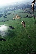 US Parachutists during Operation Just Cause