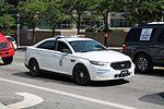 US Postal Police Ford Interceptor Sedan (28362064841).jpg