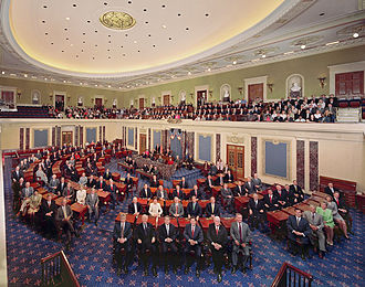 108th United States Congress - U.S. Senate in the Senate Chamber (2003)