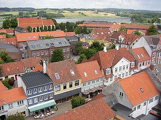 Faaborg Town in Southern Denmark, Denmark