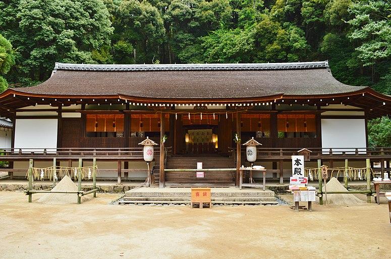 Ujigami-jinja, haiden