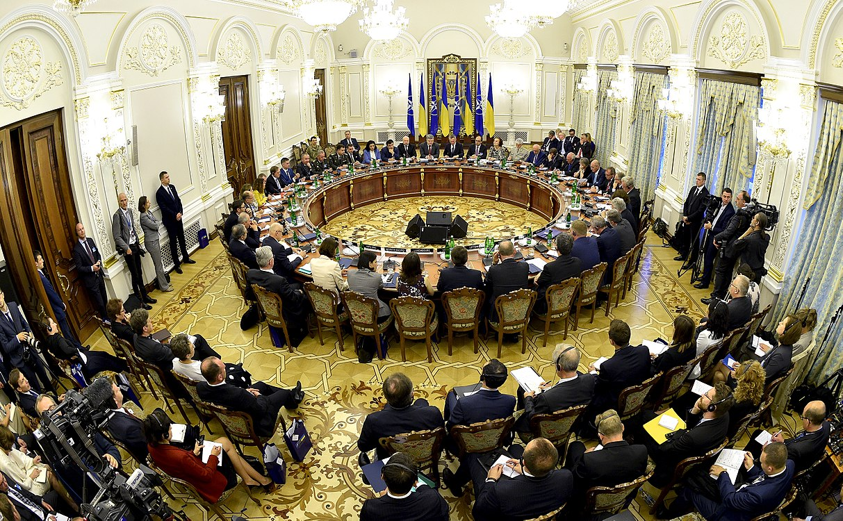 Ukraine – NATO Commission chaired by Petro Poroshenko (2017-07-10) 23.jpg