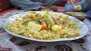 Umm Batin - Traditional Bedouin dish