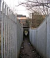 Underpass - Frizinghall Station - off Canal Road - geograph.org.uk - 643279.jpg