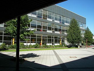 University of Marburg - The Central Lecture Hall Building, which has been built to cater for the increased number of students