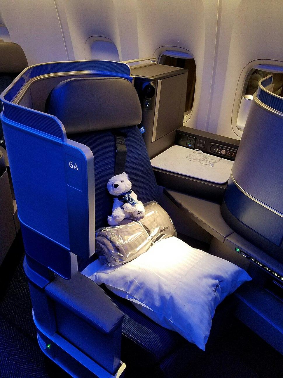 United Polaris Seat
