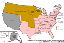 Outline of Oregon territorial evolution