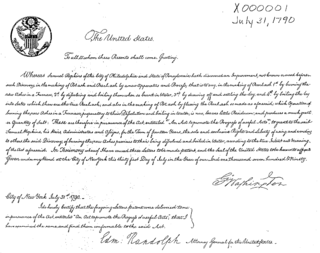 Patent Act of 1790