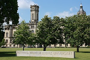 University of Hanover - Main building Leibniz Universität Hannover