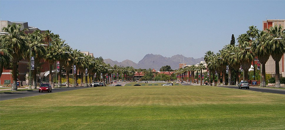 University of Arizona mall