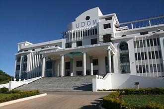 Dodoma - The University of Dodoma.