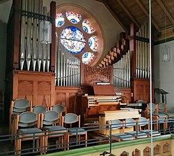 Unterdeufstetten, Ev. Markuskirche, Orgel (4).jpg