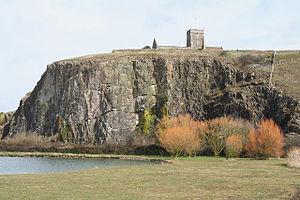 Mendip Way - Uphill Cliffs SSSI and Norman church