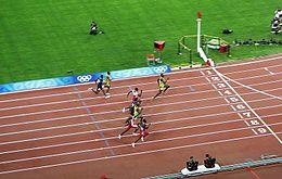 2008 100m