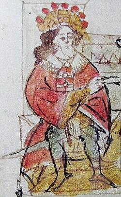 Usiasłaŭ Połacki (Čaradziej). Усяслаў Полацкі (Чарадзей).jpg