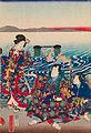 Utagawa Yoshitora - Genji Crossing the Oi River - Google Art Project.jpg