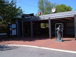 friheden station parkering