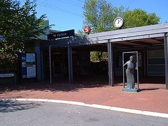 Værløse station - Image: Værløse Station 5