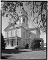 VIEW FROM SOUTHEAST - Madison County Courthouse, Courthouse Square, Winterset, Madison County, IA HABS IOWA,61-WINSE,2-1.tif