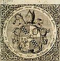 VIrtVosIVs pantheon, Deo and sanCtIs ereCtVM, id est, Sermones panegyrici de praecipuis sacrorum ordinum fundatoribus, patriarchis, aliisque terrarum patronis, ad normam and formam Psalmo-graphi, (14562185069).jpg