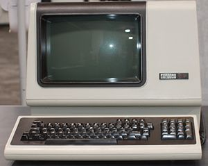 VT100 - VT131 on display at the Living Computer Museum.