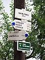 V Šáreckém údolí, Na Mlýnku, rozcestník.jpg
