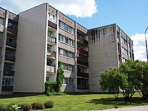 Valka - Image: Valka, Ausekļa iela (4)