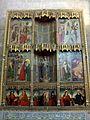 Valladolid - Museo Diocesano y Catedralicio, Capilla de Santo Tomás, Retablo de Santa Ana (Maestro de Gamonal, s-XV-XVI).jpg