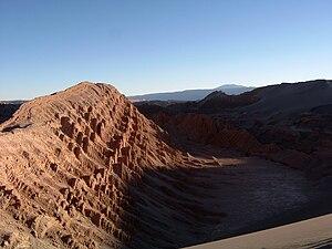 Scene from Valle de la Luna (Moon Valley) near San Pedro de Atacama.