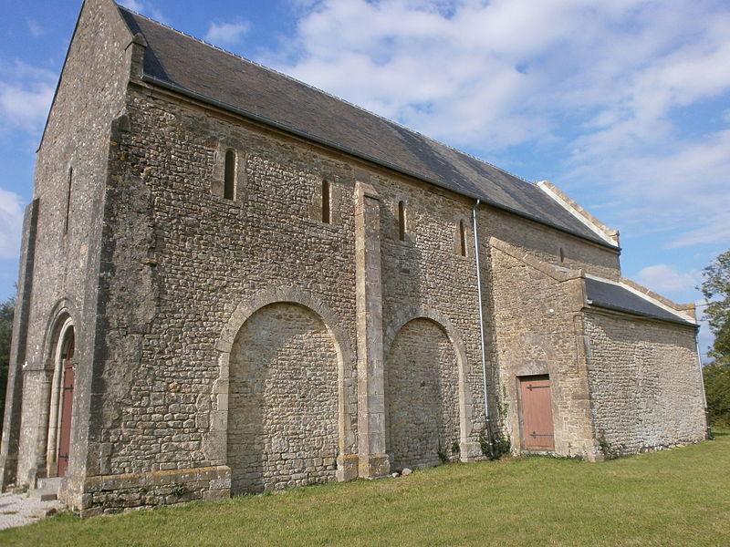 Valognes (Alleaume), chapelle Notre-Dame-de-la-Victoire, façade sud
