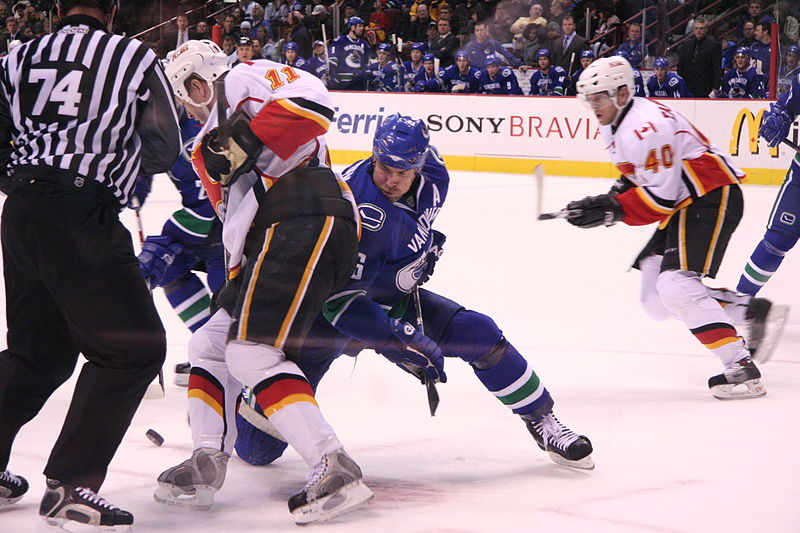 File:Vancouver Canucks vs Calgary Flames.jpg