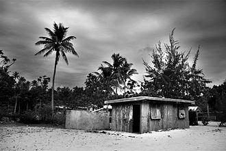 Religion in Vanuatu - A church on Pele Island, Vanuatu.