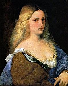 La Femme Au Miroir Titien Wikipédia