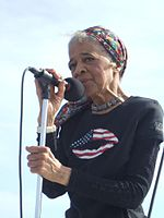 Vel Phillips at March on Milwaukee - 2007.jpg