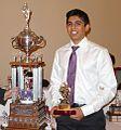 Velan Nandhakumaran with Wayne Gretzky Award.jpeg