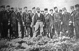 Eleftherios Venizelos - Venizelos at Akrotiri, 1897.