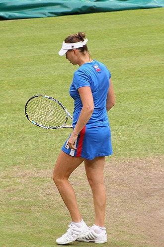 Vera Zvonareva - Zvonareva at the 2012 Summer Olympics