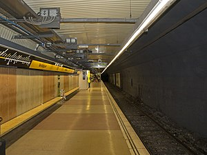 Verdaguer station L4 northbound platform.jpg