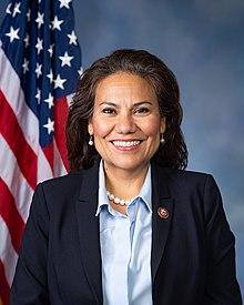 Veronica Escobar official portrait, 116th Congress.jpg