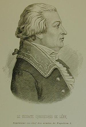 Canadian peers and baronets - The Vicomte de Léry was the Canadian Engineer-in-Chief of Napoleon's Armies. He married a daughter of the Duc de Valmy and was a nephew of the Marquis de Lotbinière