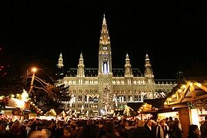 Landtag - Rathaus, Vienna serves as City Hall and Gemeinderat.