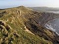 View from Gad Cliff towards Tyneham Cap - geograph.org.uk - 645107.jpg