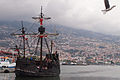 View of Funchal as from its bay, with a windship in foreground. Funchal, Portugal, Autonomous Region of Madeira, Southwestern Europe-2.jpg