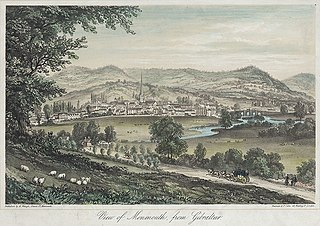 View of Monmouth, from Gibralter