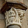 Vigeois - Monastère - Eglise Saint-Pierre - Chapiteau Le jeune Tobie.JPG