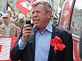 Viktor Anpilov,a Russian hardline Communist politician and trade unionist.jpg