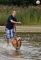 Viljo koirarannalla 1.jpg